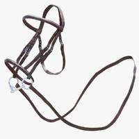 3d horse bridle