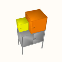 3d cupboard ikea model
