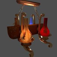 3d chinese lantern