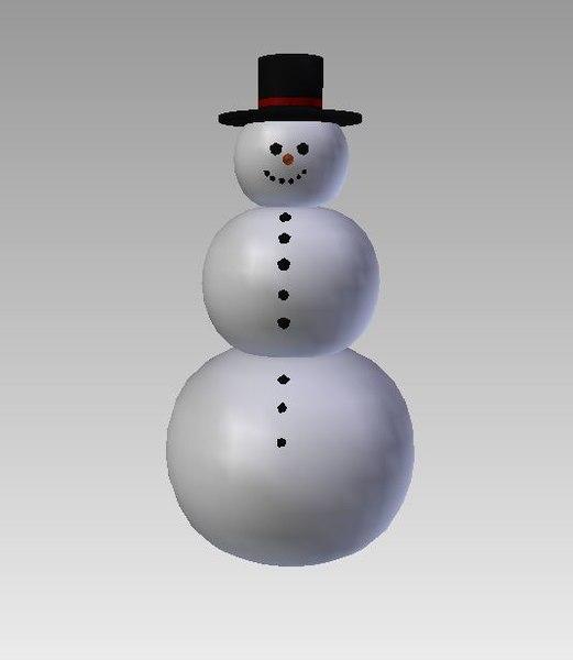 snowman blend free
