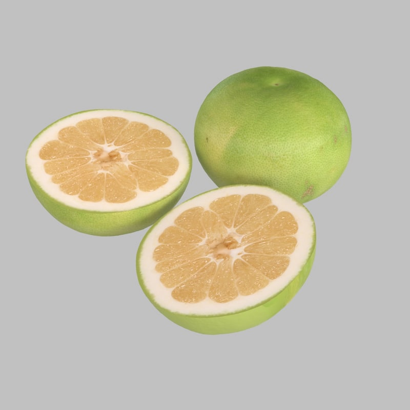 grapefruit fruit 3d max