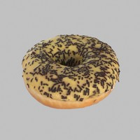 max donut chocolate banana