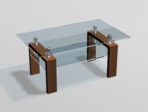 free max model glass table
