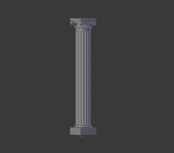 greek column obj