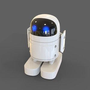 robot herbed 3d model