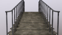 Concrete Stairs (Outside)