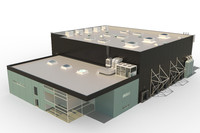 3d model building industrial