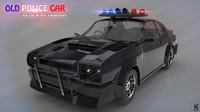 sri police car 3d model