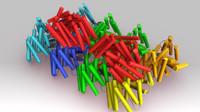 3d phycoerythrin model