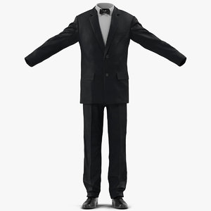 men suit 4 3d 3ds