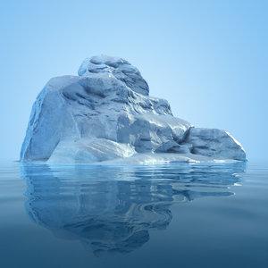 3d iceberg 4 model