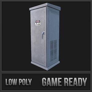 3d utility box 03