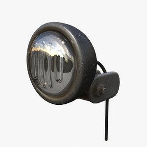 light headlight 3d x