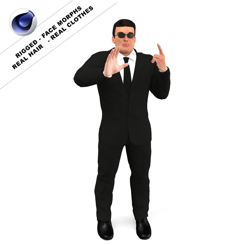 c4d bodyguard body