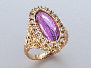 3d royal ring