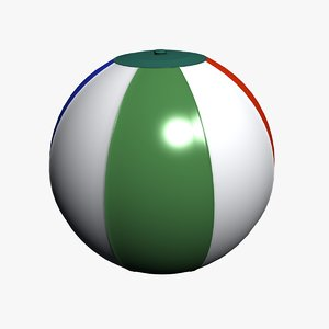 3ds beach ball