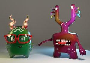 3d characters blender