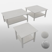 3d ikea hemnes tables