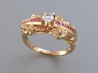 3d yinyang ring