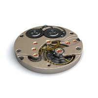 3d watch mechanism