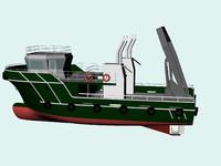 submarine vessel dwg