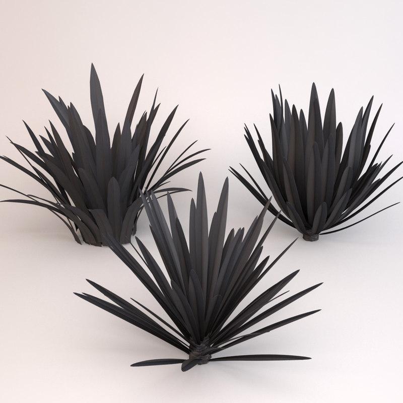 flax platt black 3d 3ds