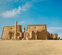 egypt luxor temple 3d max