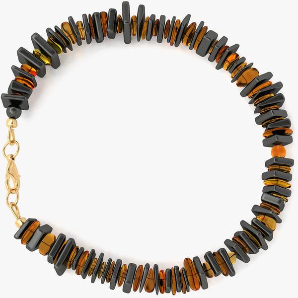 3d model mens bracelet