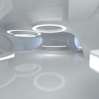 Sci-Fi Futuristic Room