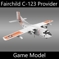 Fairchild C-123 Provider - Game model