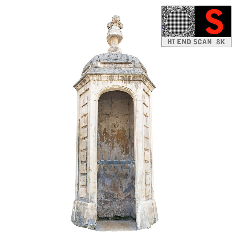 shed guard palace 3d max