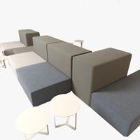 obj sofa realistic