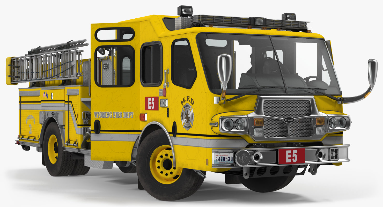 apparatus e-one quest wyoming 3d max
