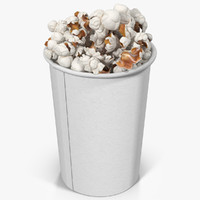 popcorn cup obj