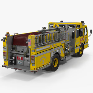 3d model of apparatus e-one quest wyoming