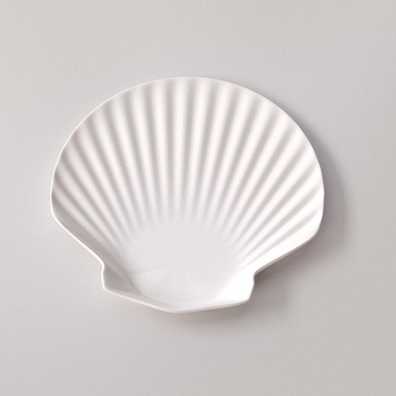 shell plate 3d x