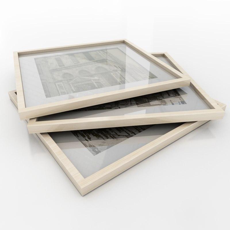 3d model of photo frames