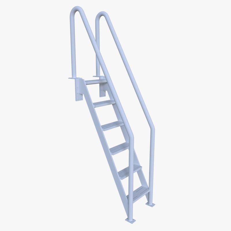 3d model pool ladder