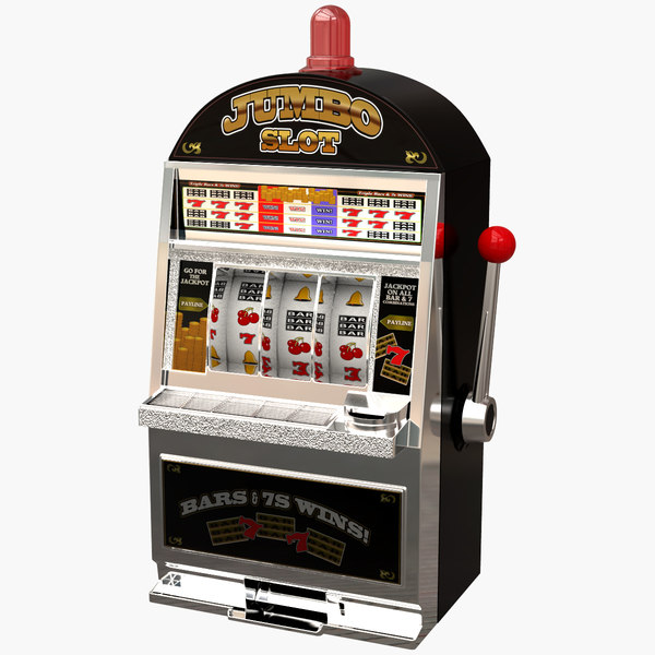 3d jumbo slot machine model