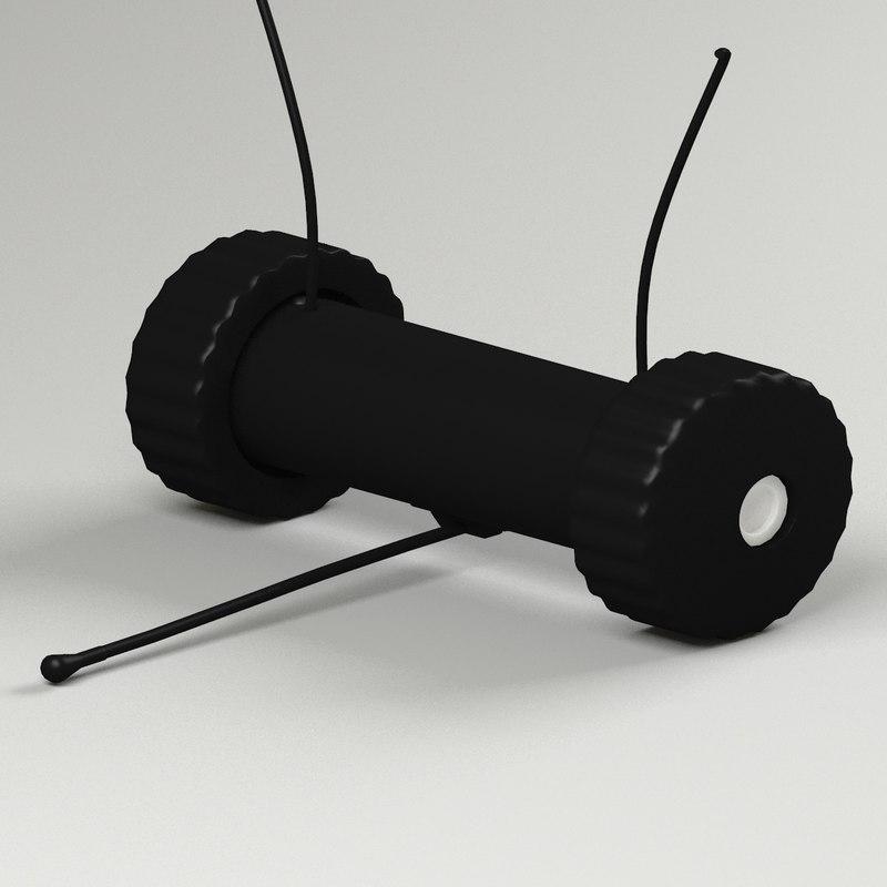 scout robot 3d model