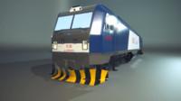 3d blend locomotive hxd3b