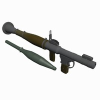 rocket propelled gernade r 3ds