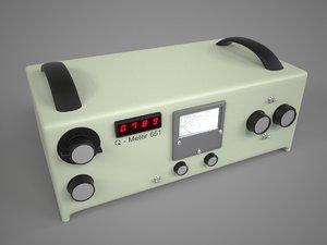 3d q-meter model