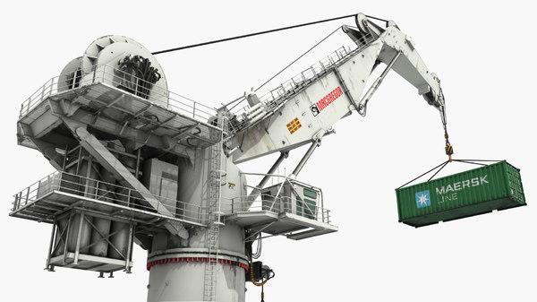 3d heavy crane