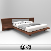 3d bed unreal unity