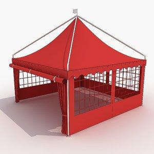 tent 2 3d model