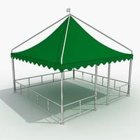 3d model tent 4