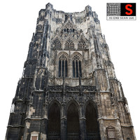 3d gothic architecture cathedral 16k