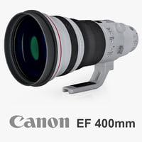 canon ef 400mm f max