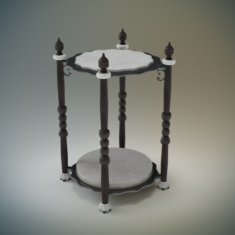 3d small table